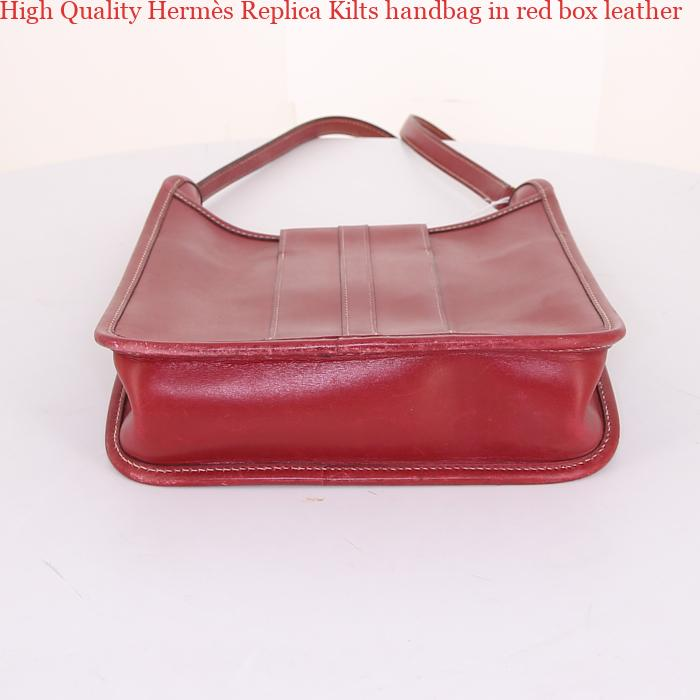 cec227f66e4a High Quality Hermès Replica Kilts handbag in red box leather – Replica  Hermes Birkin Bags – Birkins Hermes Replica Handbags Free Shipping