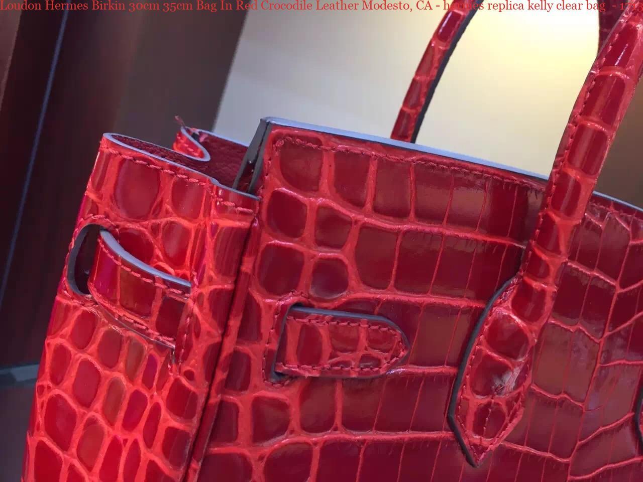 298697c6245 Loudon Hermes Birkin 30cm 35cm Bag In Red Crocodile Leather Modesto ...